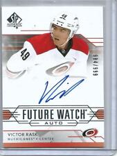 Victor Rask 14/15 SP Authentic Future Watch Autograph Rookie #984/999