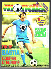 MONDIAL n°17 ¤ 1978 ¤ ITALIE / BASTIA - AVEC LE POSTER GUILLOU / JOHNSTON