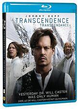 NEW BLU-RAY  // TRANSCENDENCE // Johnny Depp, Paul Bettany, Rebecca Hall,