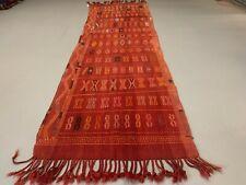 Old Turkish narrow Kilim Runner 290x90 cm, shabby chic vintage kelim rug