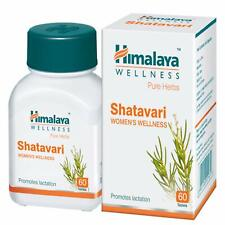 Himalaya Pure Herbs Shatavari Promotes lactation Women's Wellness 60 Tablets