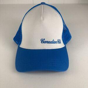 Canadian Club Trucker Cap Artic Blue Mesh & White