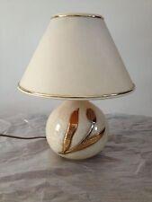 Lampe céramique et abat jour SIGNES  L DRIMMER - Luminaire Luxe Français VINTAGE