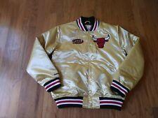 NWT MITCHELL & NESS CHICAGO BULLS Championship satin Jacket size large