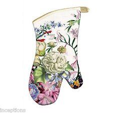 Michel Design Works Cotton Kitchen Oven Mitt Romance Floral - NEW