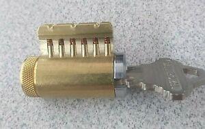 Cutaway Lock Cylinder For Locksmith 6 Pin Schlage Keyway