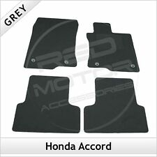 Honda Accord Mk8 2008-2015 Fully Tailored Fitted Carpet Car Floor Mats GREY