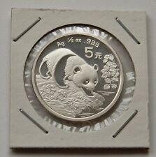 "CHINA: 5 Yuan 1994 ""PANDA"", Y 436, stempelglanz, II."