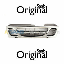 NEW SAAB 9-5 FRONT UPPER GRILLE ASSEMBLY 1999-2001 2000 GENUINE OEM 4677191