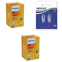 S2 12V 35/35W Standard Erstausrüsterqualität 2St Philips + W5W NeoLux
