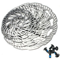 Cycling Bicycle MTB Bike Stainless Steel Brake Disc Rotor 120mm-203mm  + 6 Bolts