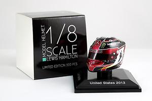 Spark 1/8 Scale Lewis Hamilton Mercedes AMG Petronas 2013 Helmet United States