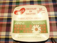 Vide Poche Rendu Monnaie Publicitaire chocolat ARNI suisse    Vintage  An 80's
