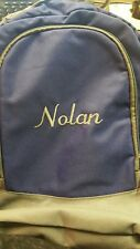 aBaby Brody Preschool Backpack Name NOLAN~FREE SHIPPING~NEW WITH TAGS