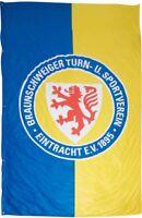 Hissflagge Fahne Eintracht Braunschweig Logo XL Flagge - 200 x 300 cm