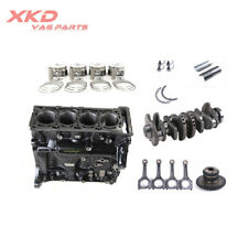 Engine Block Assembly&Conrods &Piston Ring Kit Fit For Audi A4 A5 A6 A8 Q3 Q5 TT