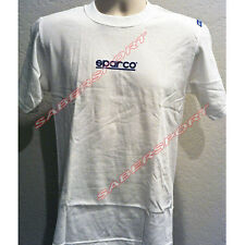 """""""IN STOCK"""" AUTHENTIC SPARCO APPAREL """"PHANTOM"""" T-SHIRT WHITE -SIZE- SMALL"""