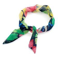 Noir multi couleur imprimé fleuri noeud filaire bandeau cheveux wrap band accessoires