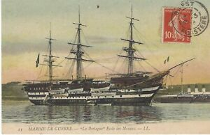 "French School Ship "" BRETAGNE """