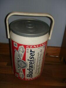 "Vintage Budweiser Beer Can Cooler  13.5""  Brew  Kooler Kraft 1997 Cool"