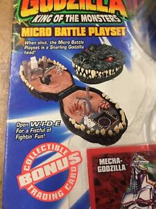 Godzilla King of the Monsters Micro Battle Playset Godzilla VS Mecha Los Angeles