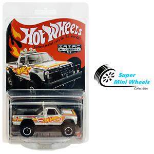 Hot Wheels RLC 2021 Zamac Edition - 1980 Dodge Macho Power Wagon (Silver)