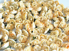 10pc champagne Silk Flower Rose Wedding Birthday Party Home Table Decoration K