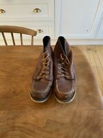 Caterpillar Moc Toe Boot UK9 EU44 Redwing Style Used But Still Going Strong