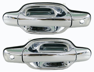 *NEW* FRONT DOOR HANDLE OUTER (CHROME) for GREAT WALL V200 V240 2009-ON LHF+ RHF