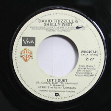 Country 45 David Frizzell & Shelly West - Let'S Duet / A Texas State Of Mind On