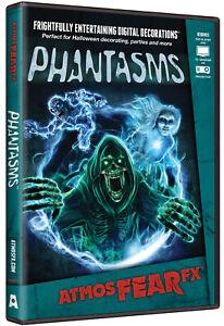 Atmosfearfx Phantasms DVD Halloween Digital Decoration Ghouls Spirits Hologram
