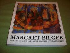 Margret Bilger – Holzrisse – Zeichnungen – Glasfensterarbeiten – 1988