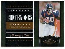 2006 CONTENDERS LEGENDARY Terrell Davis #892/1000