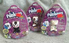 Lot Of 3 U.B. Funkeys Characters MISP Vlurp, Ptep, Waggs 2008 Radica Mattel Pics
