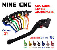 CNC Long Brake Clutch Lever For KAWASAKI Ninja ZX-10R 04-05 Ninja ZX-9R 00-03