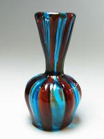 Murano Italy Glas Vase a canne Technik Design Venetian Art Glass