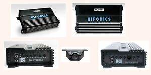 Hifonics A1000.2D 1000 Watt Alpha Series Full Range D-Class 2-Channel Amp NEW