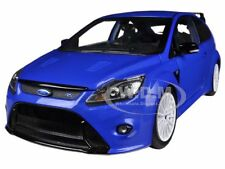 2010 FORD FOCUS RS METALLIC BLUE 1/18 DIECAST CAR MODEL BY MINICHAMPS 100080007