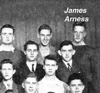 "JAMES ARNESS High School Yearbook  ""GUNSMOKE""   SUPERB Condition"