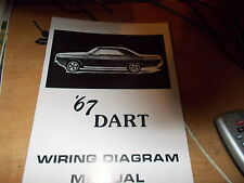 other manuals & literature for 1967 dodge dart for sale ebay 1967 chevy el camino wiring diagram 1967 dodge dart wiring diagram manual