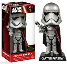 Bobble-head Star Wars VII Captain Phasma wacky wobbler 15 cm Funko