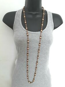 Mixed material  hippy boho 120cm  necklace or wrap bracelet    ref:C313