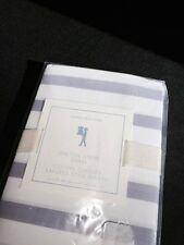 NEW with tags Pottery Barn Kids Breton Stripe Sham Standard Lavender