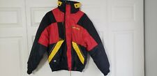 Ski-Doo Sno Gear Snowmobile Jacket Black/Red/Yellow Small S