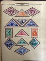 Timbres de collection: Touva de 1934 à 1935