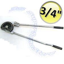 """3S PIEGATUBI CURVA TUBO A PINZA LEVA per TUBI in RAME da 3/4"""" - 19 mm CURVE 180°"""