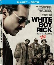 White Boy Rick (Blu-ray) LIKE NEW DISC + LIKE NEW CASE - WITH SLIPCOVER