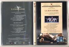 Dvd Invito al Balletto 14 LA BAYADERE Ludwig Minkus Natalia Makarova Ballet
