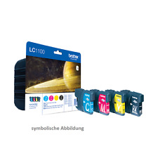 Original Brother lc1100 cartuchos de tinta (para mfc-615w, 5890cn) multi pack promocional