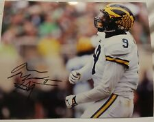 Mike McCray autographed Michigan wolverines football 8x10 photo coa